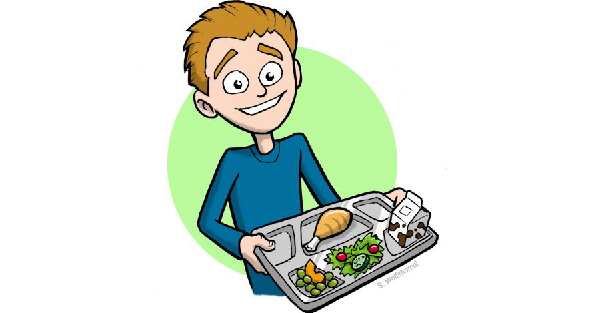 Bags of hope learn. Cafeteria clipart child