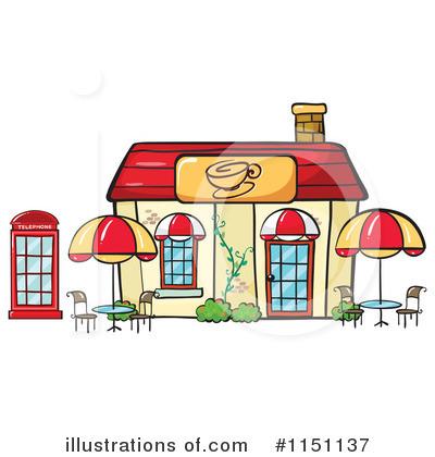 Cafeteria background building pencil. Restaurants clipart canteen