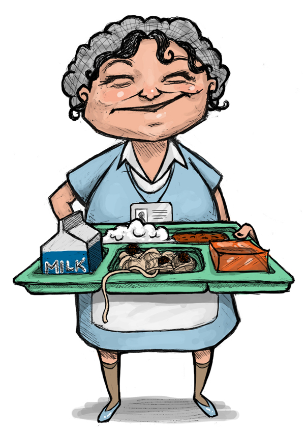 Lunch clipart dinner lady. Free pictures download clip