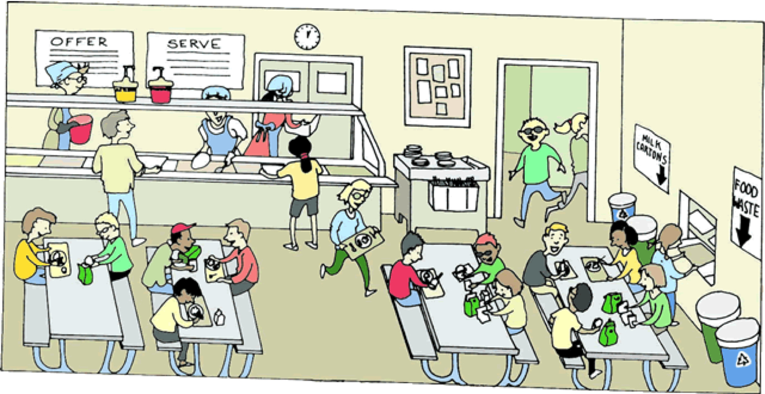 Cafeteria clipart lunchroom. Pringle roche p by