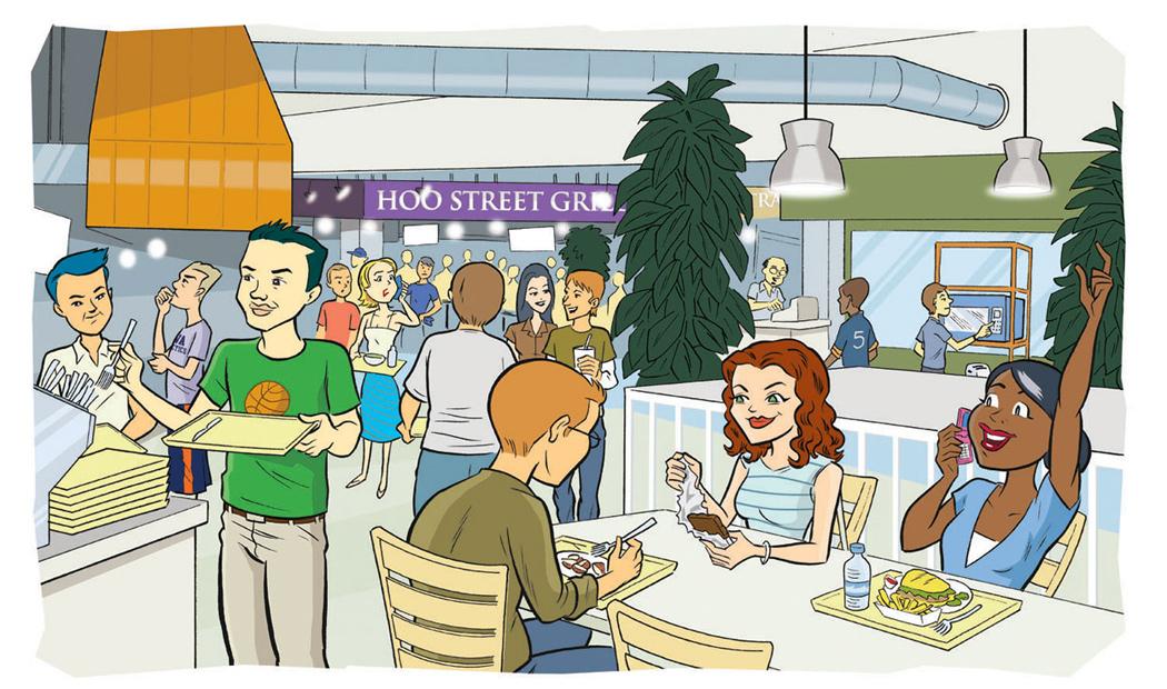 Atombomb bikini . Cafeteria clipart lunchroom