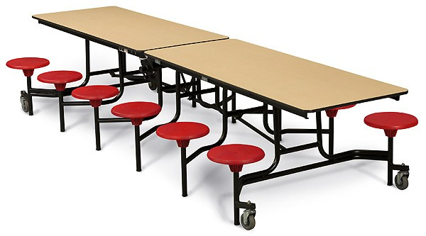 Cafeteria clipart lunchroom. Table with school tables