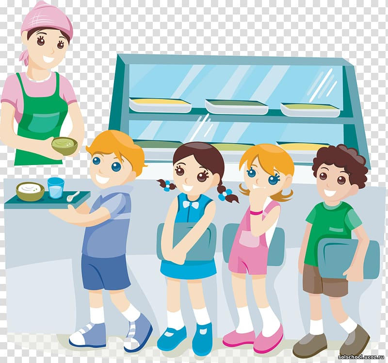 Cafeteria clipart school cafeteria. Children falling inline on