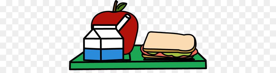 Clipart lunch breakfast. School line art menu