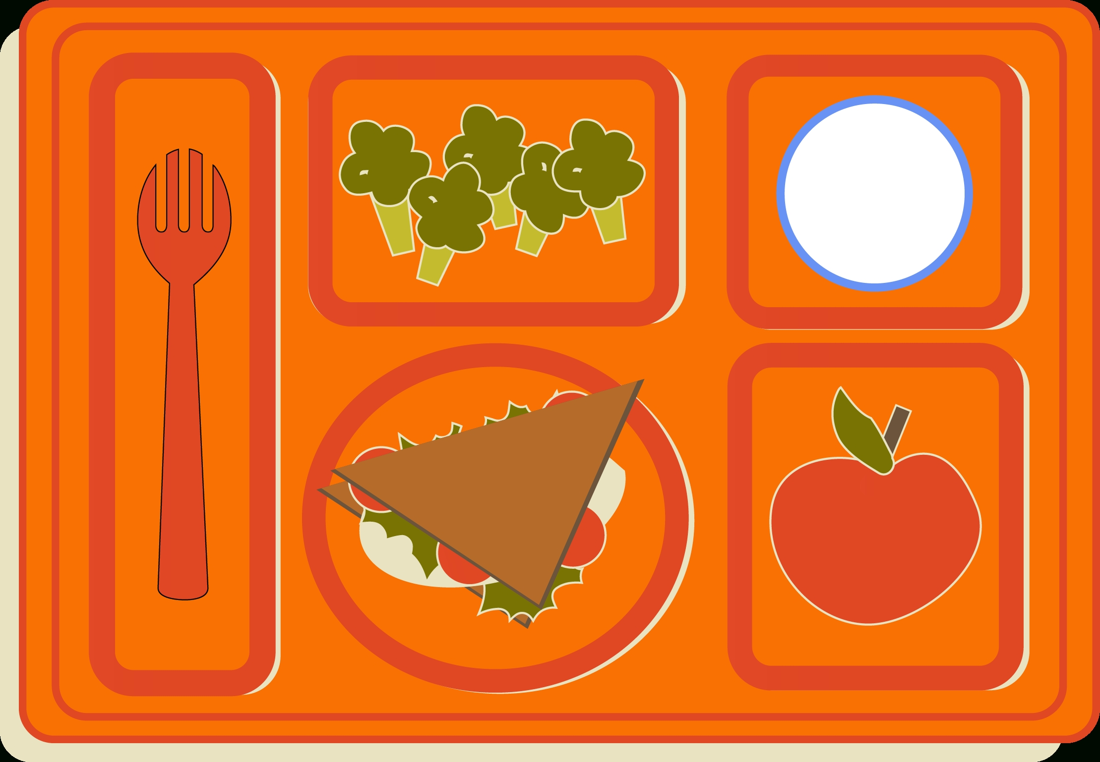Letters sweet free with. Cafeteria clipart school lunch tray
