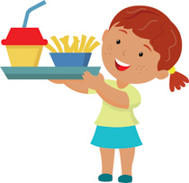 Search results for clip. Cafeteria clipart school lunch tray