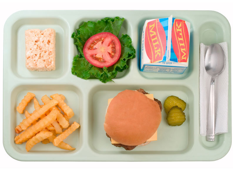 Nutrition worse than fast. Cafeteria clipart school lunch tray