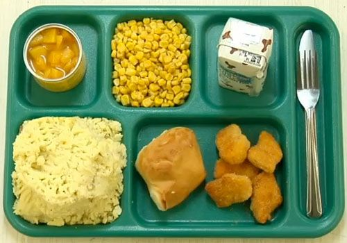 Cafeteria clipart school lunch tray. Lunches on trays are