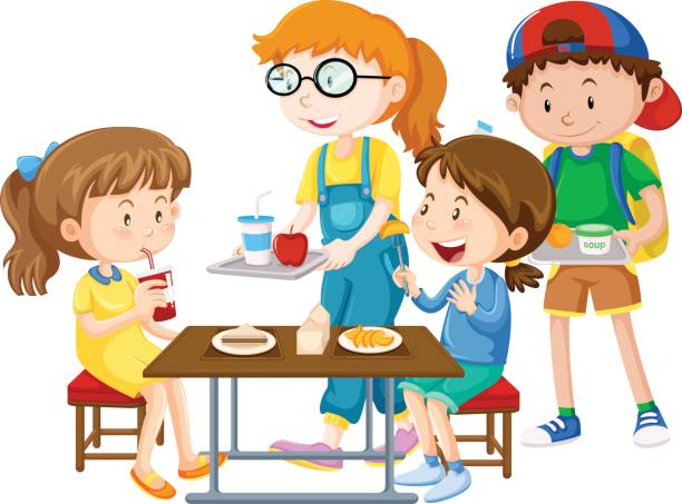 With food on clipartim. Cafeteria clipart student cafeteria