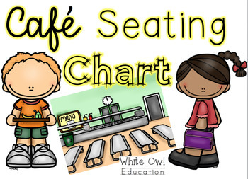 Seating chart by white. Cafeteria clipart teacher