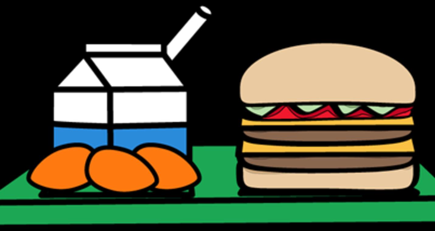 Clip art school meal. Cafeteria clipart transparent