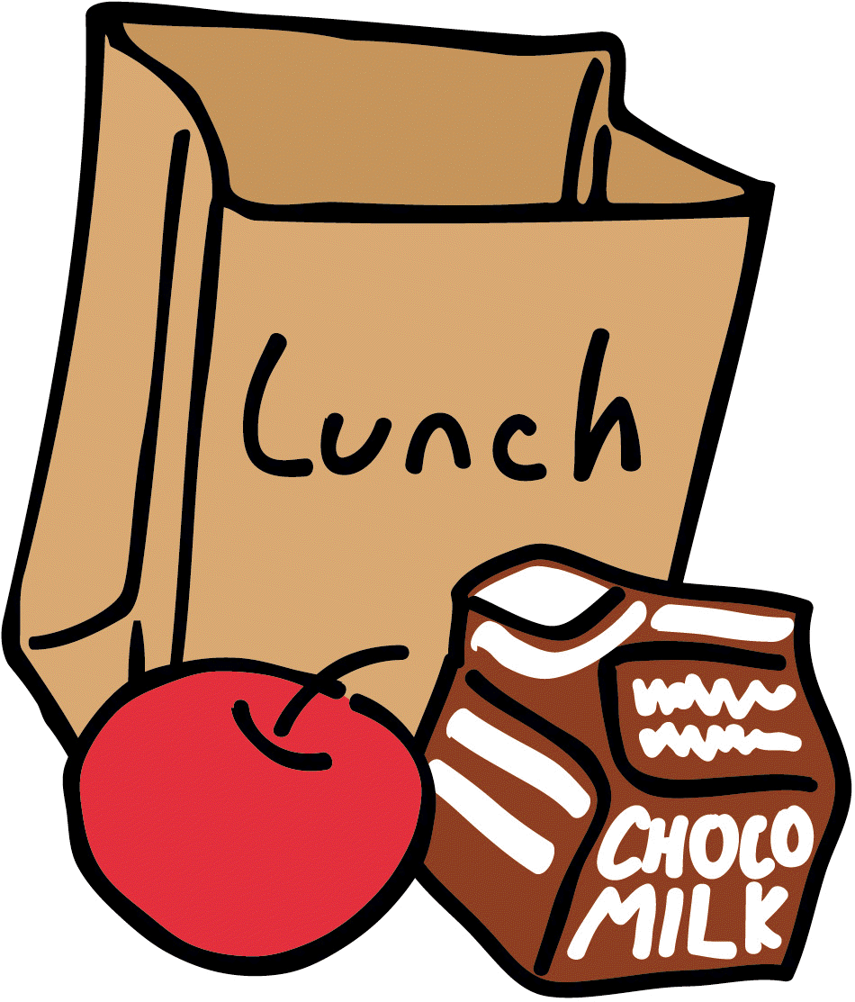 School campus of lunch. Cafeteria clipart transparent