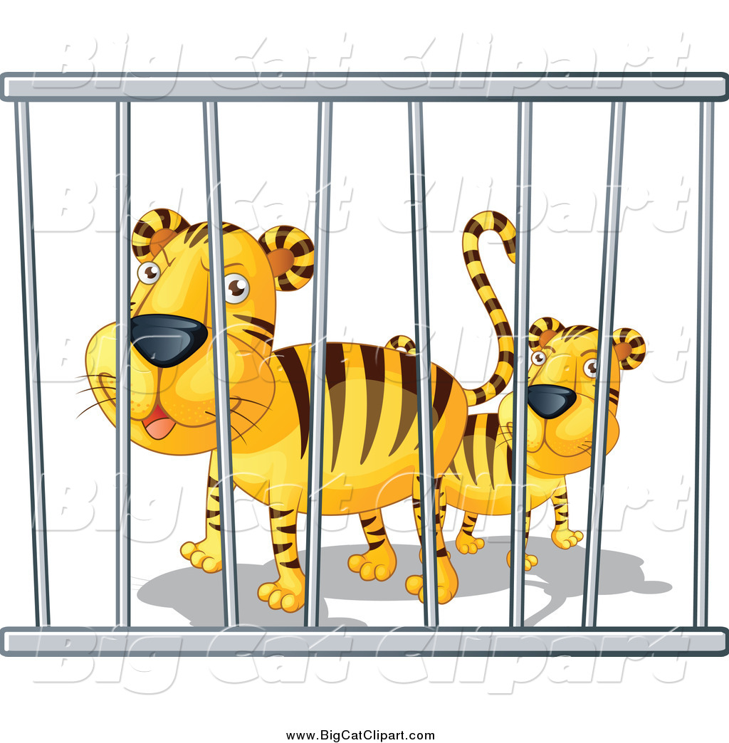 collection of animals. Cage clipart animal cage