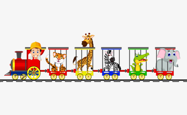Train png image and. Cage clipart animal cage