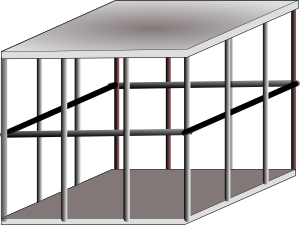 Metal clip art at. Cage clipart animated