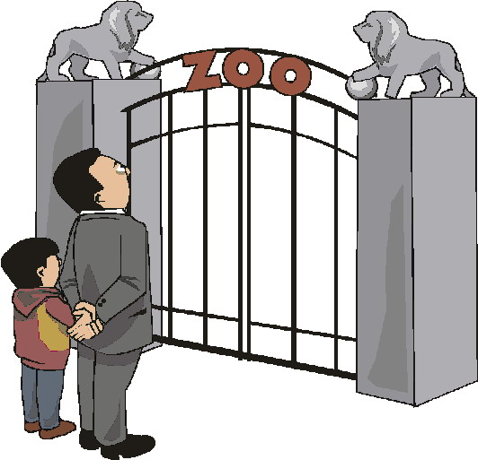 zoos images gifs. Cage clipart animated