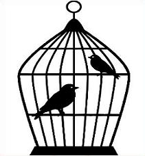 Free. Cage clipart bird cage