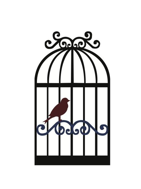 Cage clipart bird cage.  clip art clipartlook