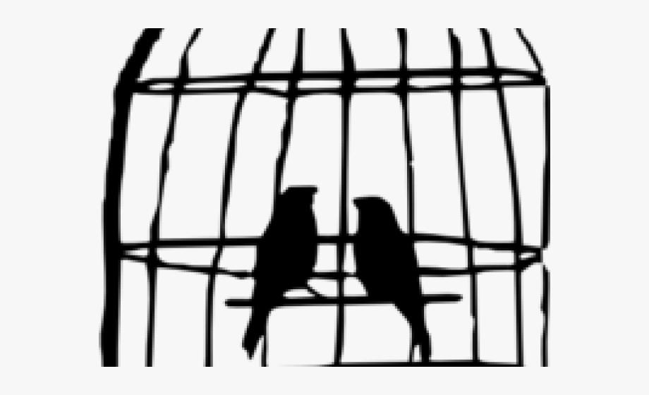 Birdcage clip art bird. Cage clipart bird's