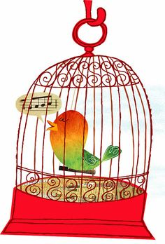 Free cliparts download clip. Cage clipart bird's