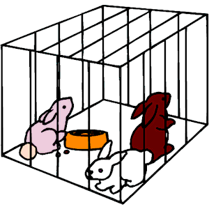 Cage clipart bunny.  collection of rabbit