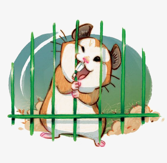 Cage clipart cartoon. Hamster hamsters lovely png