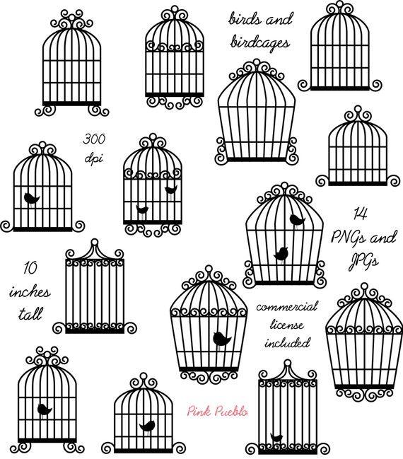 Birdcage clip art bird. Cage clipart fancy