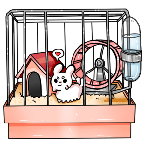 Pacapiller ych open by. Hamster clipart cage clipart