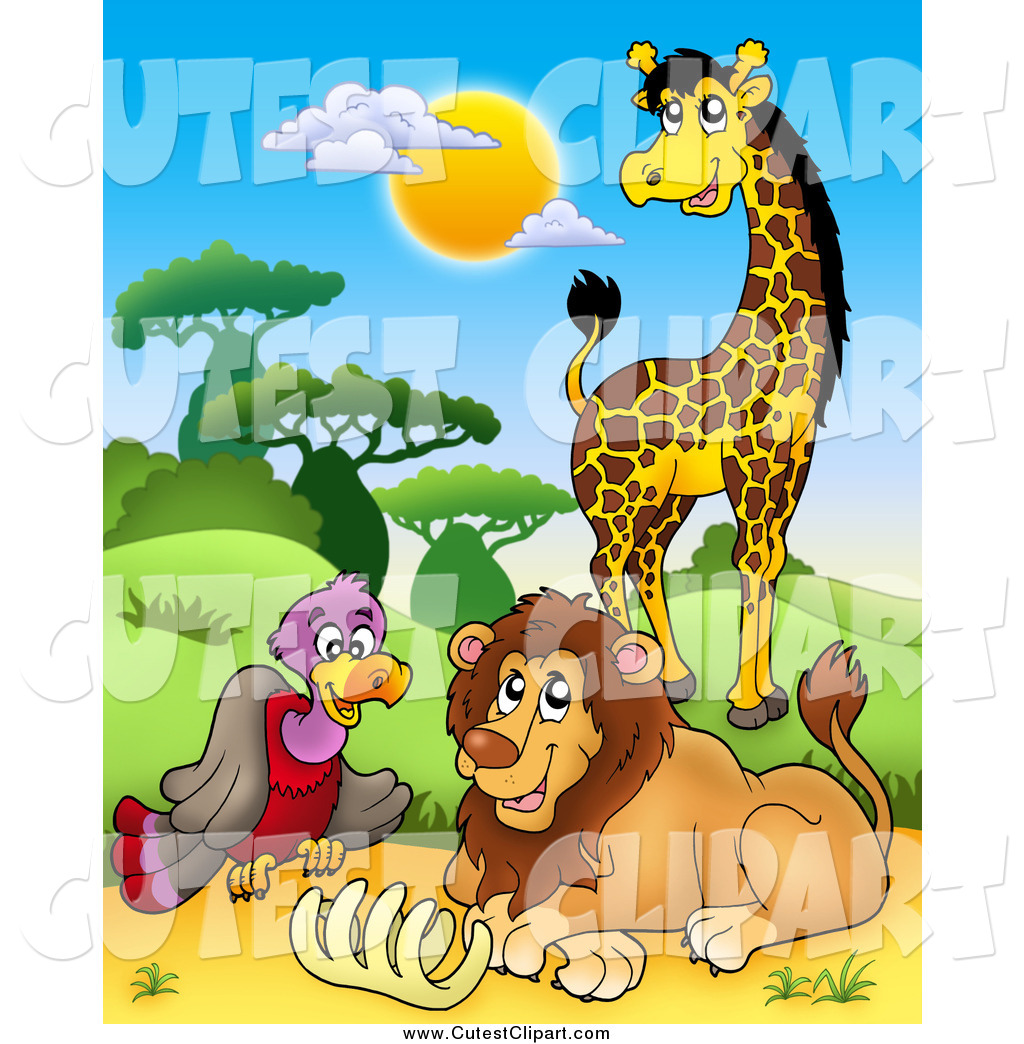 Cage clipart lion. Cartoon clip art of