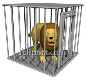 Cage clipart lion. A male in royalty