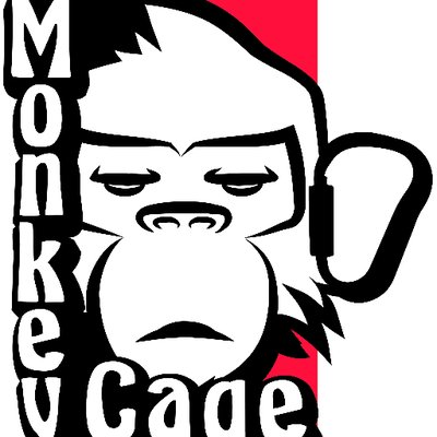 Monkeycage twitter. Cage clipart monkey cage