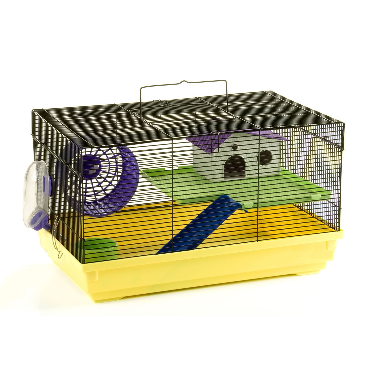 Pencil and in color. Cage clipart mouse cage