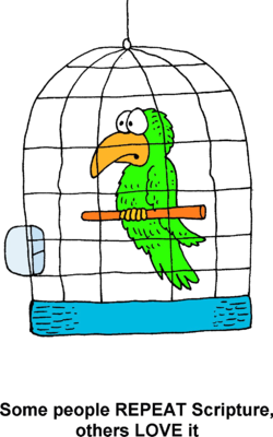 Image in some people. Cage clipart parrot