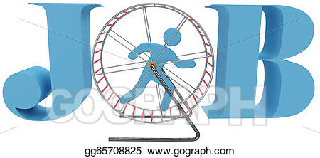 Cage clipart person. Drawing wheel rat race
