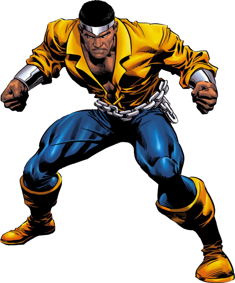 Cage clipart person. Power man luke render