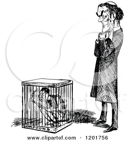 Cage clipart person. In collection locked a