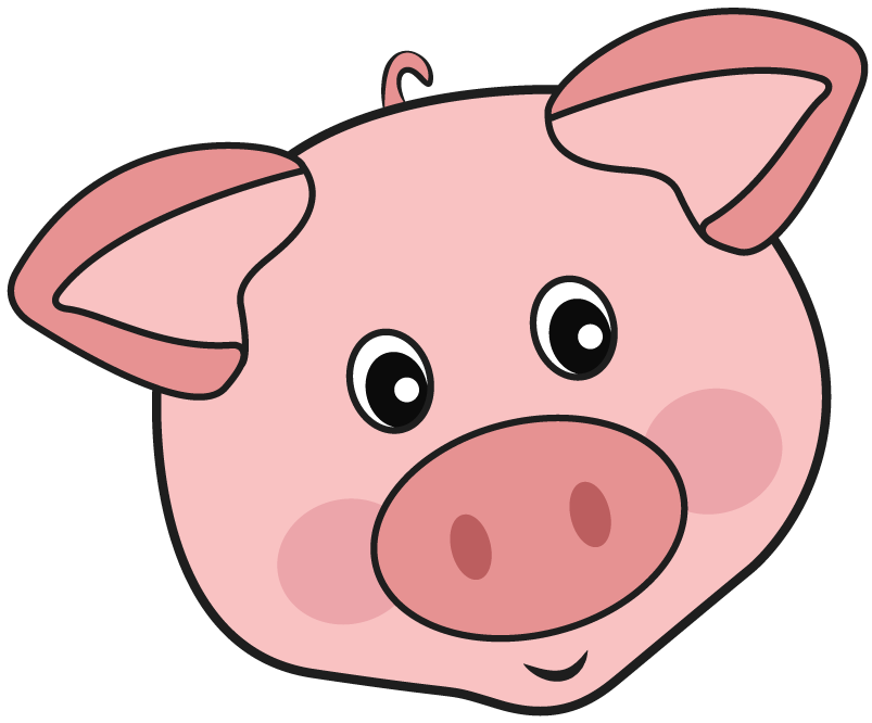 Piggy adoption process piglet. Cage clipart pig