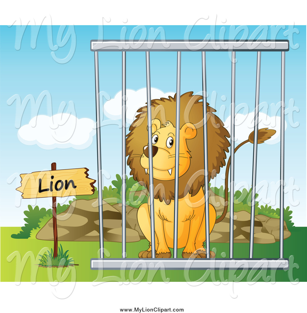 Royalty free zoo stock. Cage clipart snake