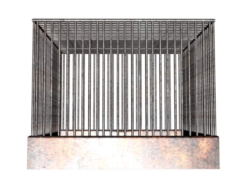 Cage clipart transparent background. Side birdcage or animal