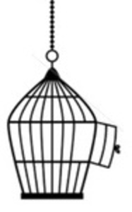 Free images at clker. Cage clipart vector