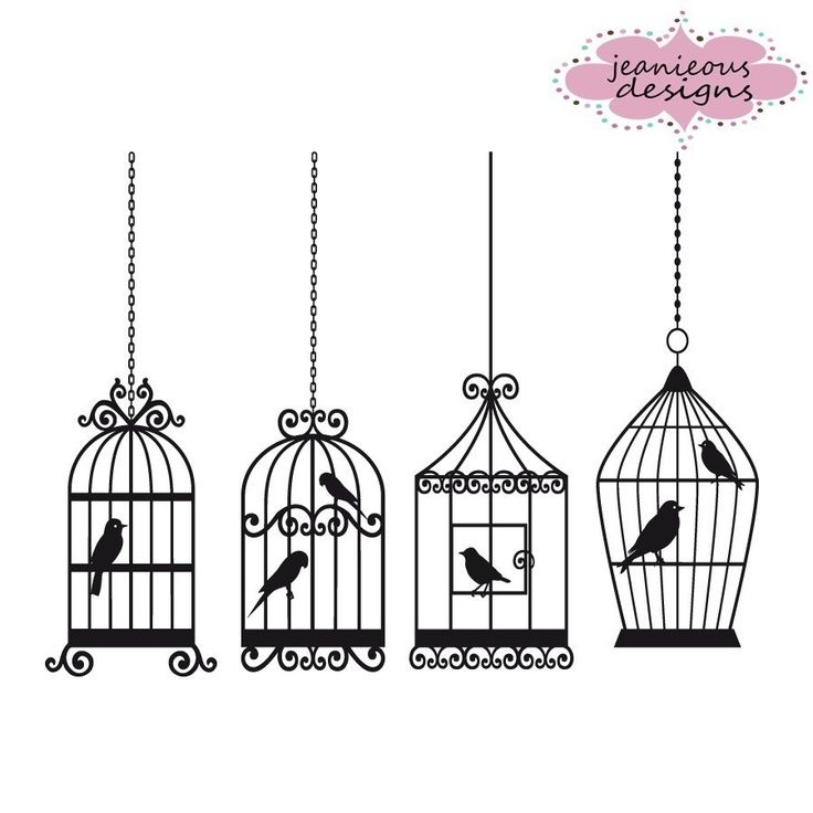 Bird cages clip art. Cage clipart victorian