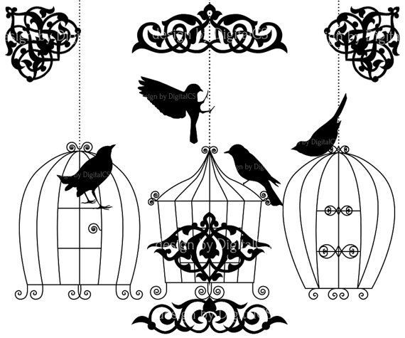 Cage clipart wedding. Free on dumielauxepices net
