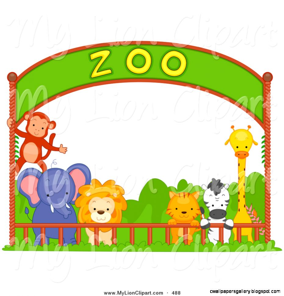 Wallpaper clipground animals in. Cage clipart zoo cage