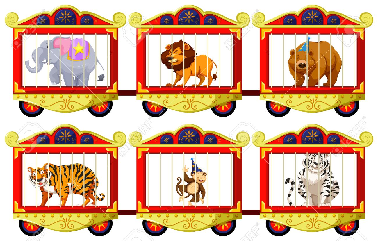 Lion cartoon of a. Cage clipart zoo cage