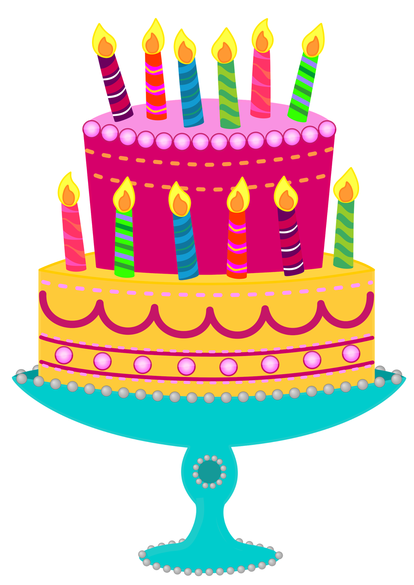 Clipart cat birthday cake. Free images cliparts co