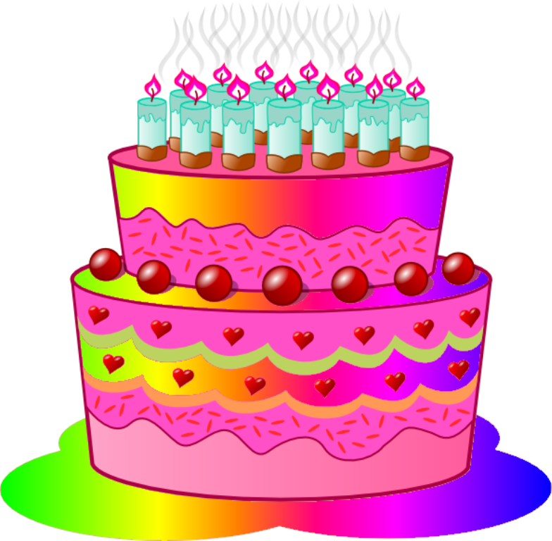 Cake clipart animation. Pictures of animated birthday