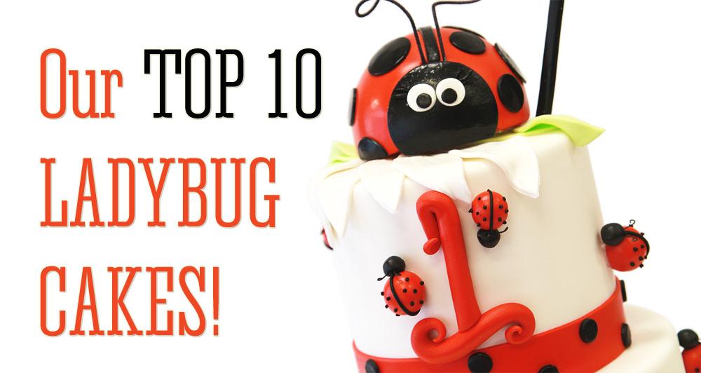 Cake clipart cake design. Our top ten ladybug