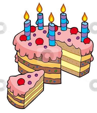 cake clipart cartoon
