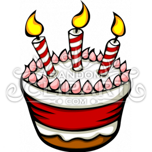 Cake clipart cartoon. Birthday candle clip art