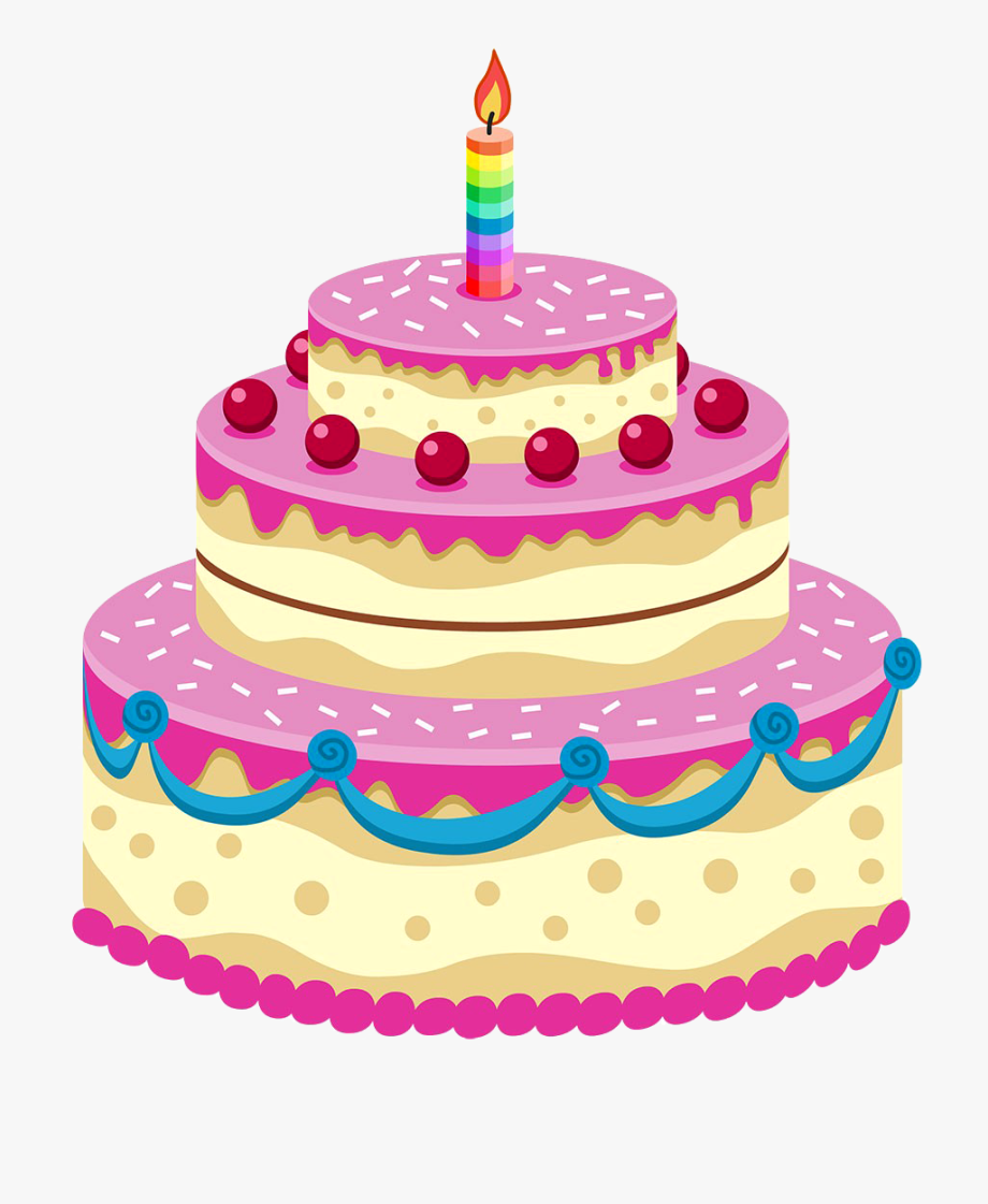 Png st birthday transparent. Clipart cake 1st